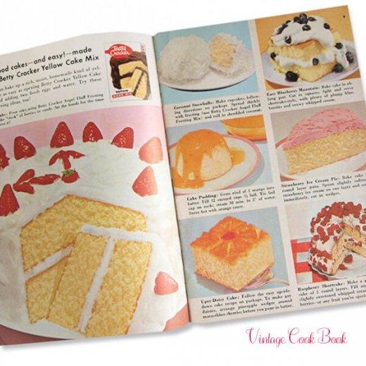 USA・Betty Crocker レシピブック(ヴィンテージ本)【画像6】