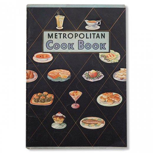 USA・Metropolitan レシピブック(ヴィンテージ本)