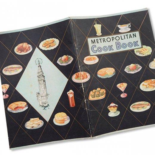 USA・Metropolitan レシピブック(ヴィンテージ本)【画像3】