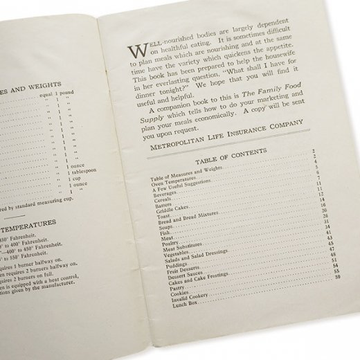 USA・Metropolitan レシピブック(ヴィンテージ本)【画像5】