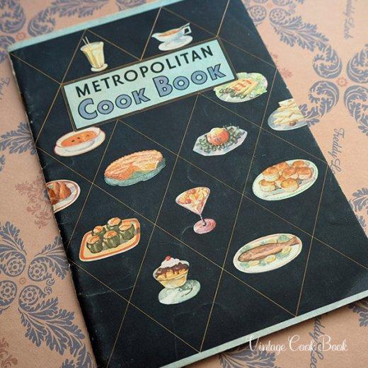 USA・Metropolitan レシピブック(ヴィンテージ本)【画像6】