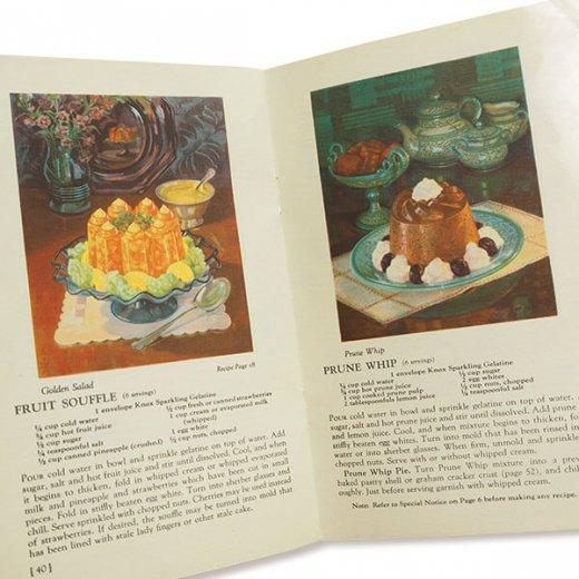USA 1933年 KNOX gelatine ノックス ゼラチン(ヴィンテージ本)【画像5】