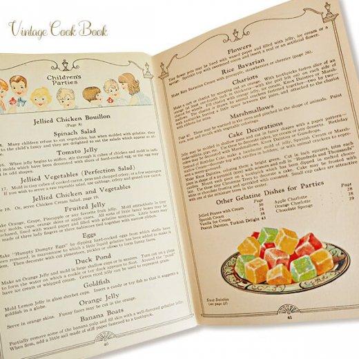 USA 【希少】1927年 KNOX dainty desserts ノックス ゼラチン(ヴィンテージ本)【画像4】