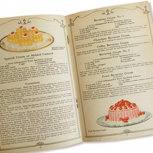 USA 【希少】1927年 KNOX dainty desserts ノックス ゼラチン(ヴィンテージ本)【画像6】