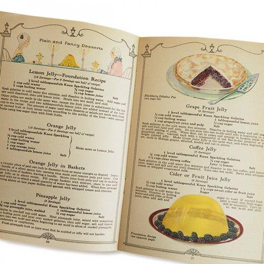 USA 【希少】1927年 KNOX dainty desserts ノックス ゼラチン(ヴィンテージ本)【画像7】