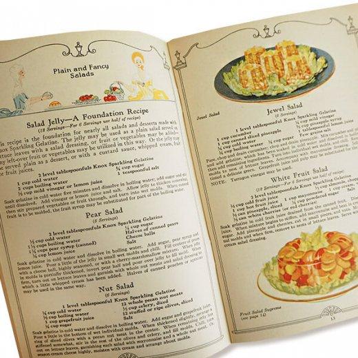 USA 【希少】1927年 KNOX dainty desserts ノックス ゼラチン(ヴィンテージ本)【画像8】