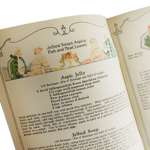 USA 【希少】1927年 KNOX dainty desserts ノックス ゼラチン(ヴィンテージ本)【画像9】