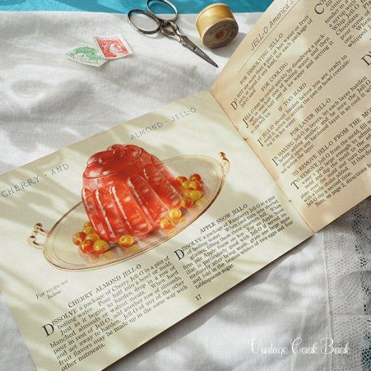 USA 【希少】1923年 JELL-O ジェロー レシピブック・Royal cookbook 2冊セット(ヴィンテージ本)【画像3】