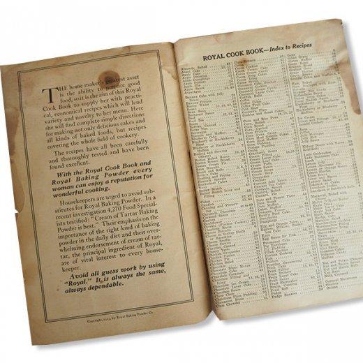 USA 【希少】1923年 JELL-O ジェロー レシピブック・Royal cookbook 2冊セット(ヴィンテージ本)【画像5】