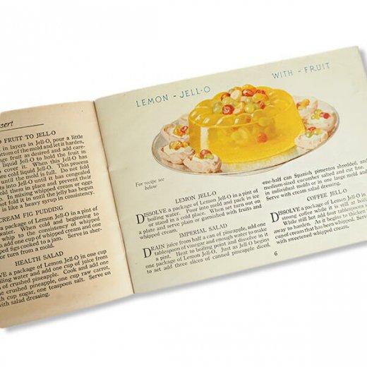 USA 【希少】1923年 JELL-O ジェロー レシピブック・Royal cookbook 2冊セット(ヴィンテージ本)【画像9】