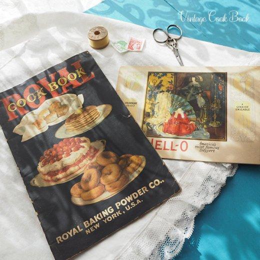 USA 【希少】1923年 JELL-O ジェロー レシピブック・Royal cookbook 2冊セット(ヴィンテージ本)【画像10】