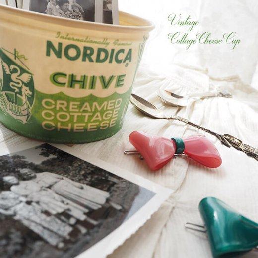 1950年代 デッドストック カッテージチーズカップ 【ノルディカ チャイブ】【画像5】