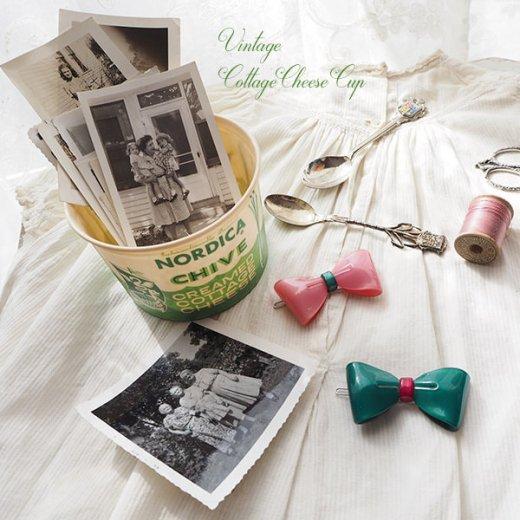 1950年代 デッドストック カッテージチーズカップ 【ノルディカ チャイブ】【画像8】