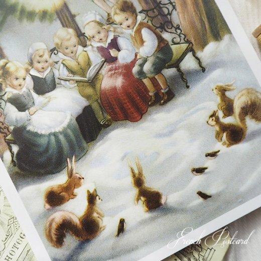 フランス ポストカード  (Soiree)【画像3】