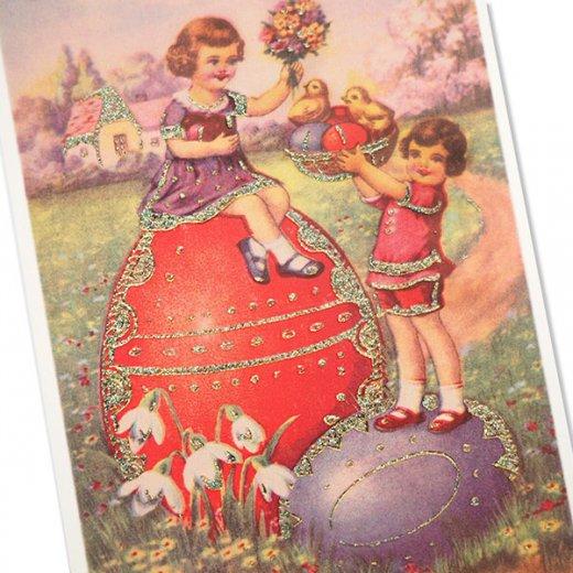 ドイツ イースター 復活祭 ポストカード (Paques T)【画像2】