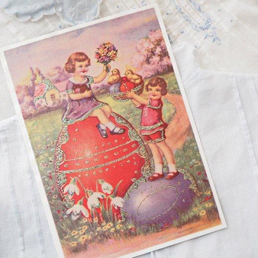 ドイツ イースター 復活祭 ポストカード (Paques T)【画像5】