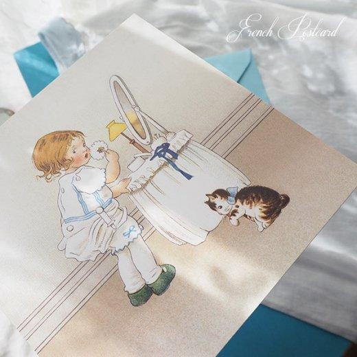 フランス Bigポストカード スクウェア 封筒セット(Mefait)【画像3】