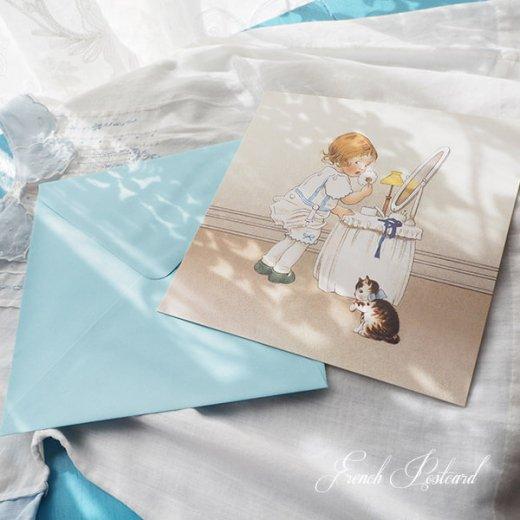フランス Bigポストカード スクウェア 封筒セット(Mefait)【画像4】