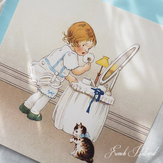フランス Bigポストカード スクウェア 封筒セット(Mefait)【画像5】