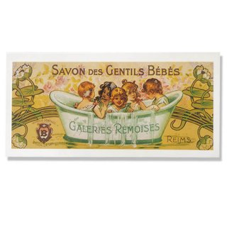 バラ ローズ 雑貨 フランス ミニポストカード サボンアドカード (Savon des Gentils Bebes)