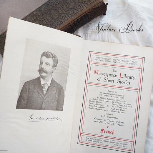 イギリス 20世紀初頭 アンティーク本【5/ French】 THE MASTERPIECE LIBRARY SHORT STORIES【画像2】