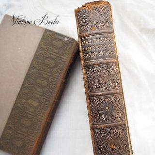 アンティーク イギリス 20世紀初頭 アンティーク本【5/ French】 THE MASTERPIECE LIBRARY SHORT STORIES