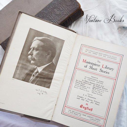 イギリス 20世紀初頭 アンティーク本【9/ English】 THE MASTERPIECE LIBRARY SHORT STORIES【画像2】