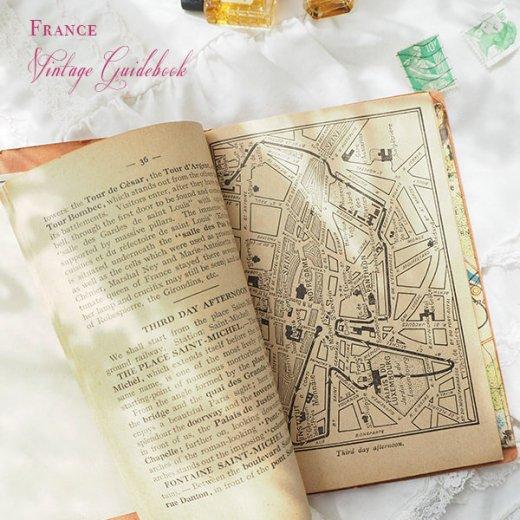 フランス蚤の市より 1954年 パリ市内 ガイドブック (ヴィンテージ本)【画像3】