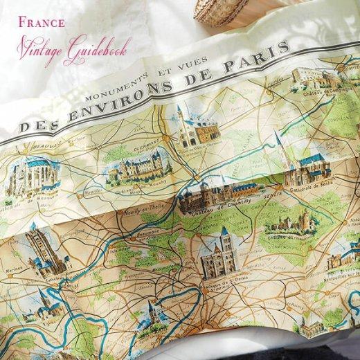 フランス蚤の市より 1954年 パリ市内 ガイドブック (ヴィンテージ本)【画像6】