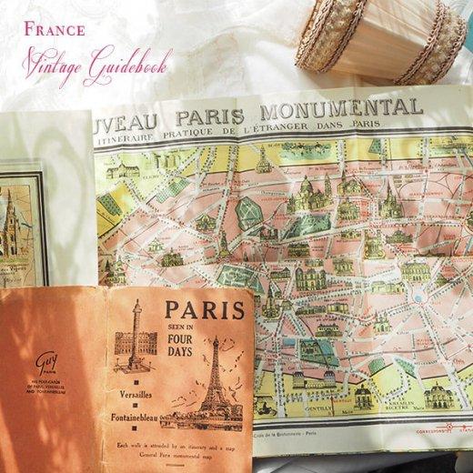 フランス蚤の市より 1954年 パリ市内 ガイドブック (ヴィンテージ本)【画像7】