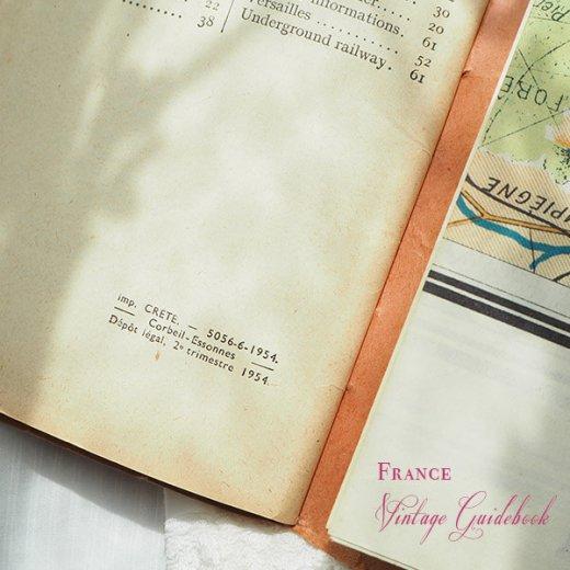 フランス蚤の市より 1954年 パリ市内 ガイドブック (ヴィンテージ本)【画像8】