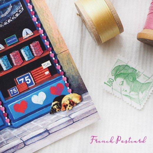 フランス ポストカード(Un air de Paris)【画像4】