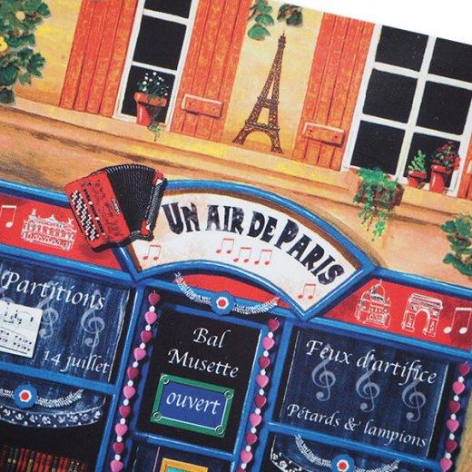 フランス ポストカード(Un air de Paris)【画像5】