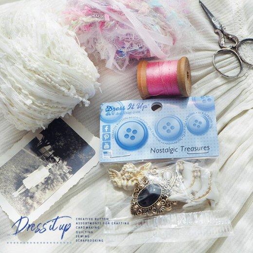 USA Dress It Up ボタン クラフト素材(ノスタルジック・天使)【画像6】