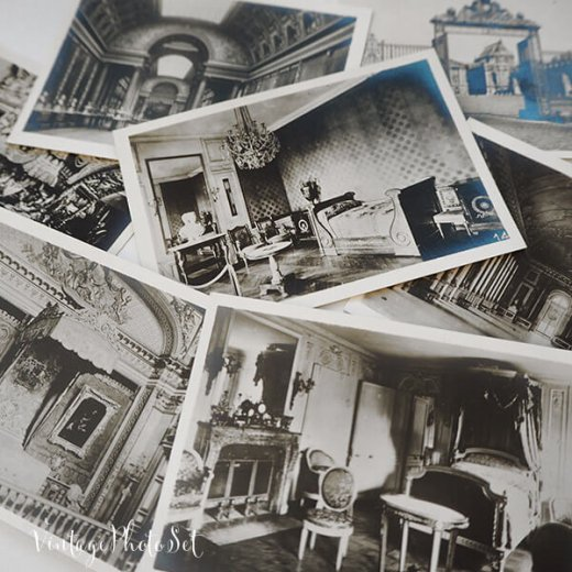 フランス 1920年代 アンティークスーベニア フォトカードセット(ベルサイユ宮殿)【画像2】