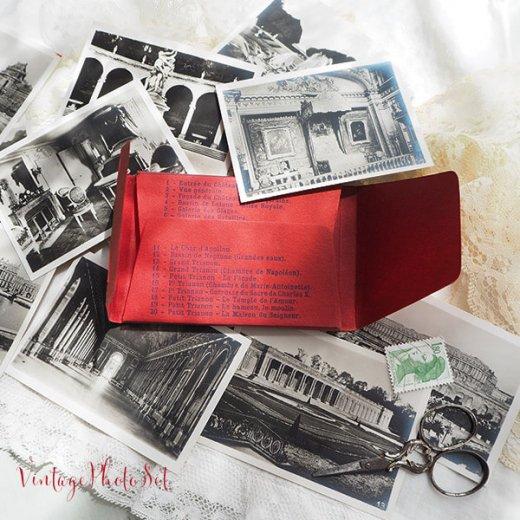 フランス 1920年代 アンティークスーベニア フォトカードセット(ベルサイユ宮殿)【画像3】