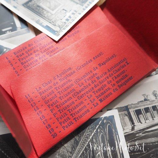 フランス 1920年代 アンティークスーベニア フォトカードセット(ベルサイユ宮殿)【画像4】