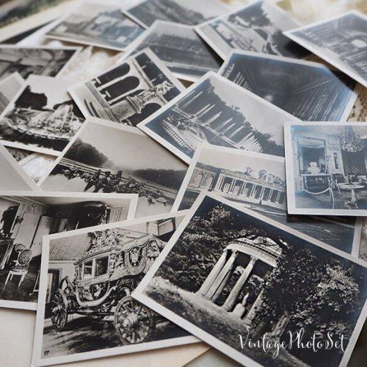 フランス 1920年代 アンティークスーベニア フォトカードセット(ベルサイユ宮殿)【画像5】