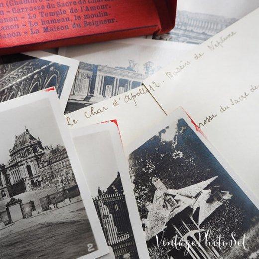 フランス 1920年代 アンティークスーベニア フォトカードセット(ベルサイユ宮殿)【画像8】