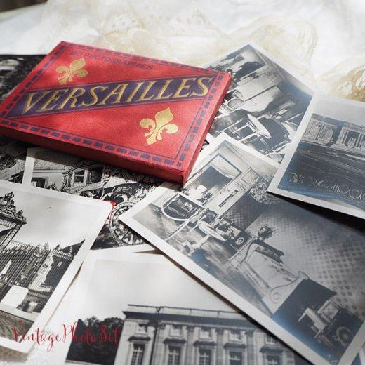 フランス 1920年代 アンティークスーベニア フォトカードセット(ベルサイユ宮殿)【画像9】