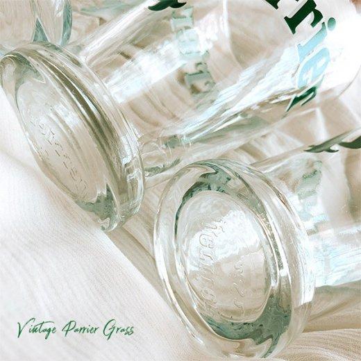フランス買い付け 【単品販売】ヴィンテージ Perrier(ペリエ)グラス【画像3】