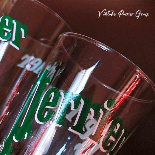 フランス買い付け 【単品販売】ヴィンテージ Perrier(ペリエ)グラス【画像4】