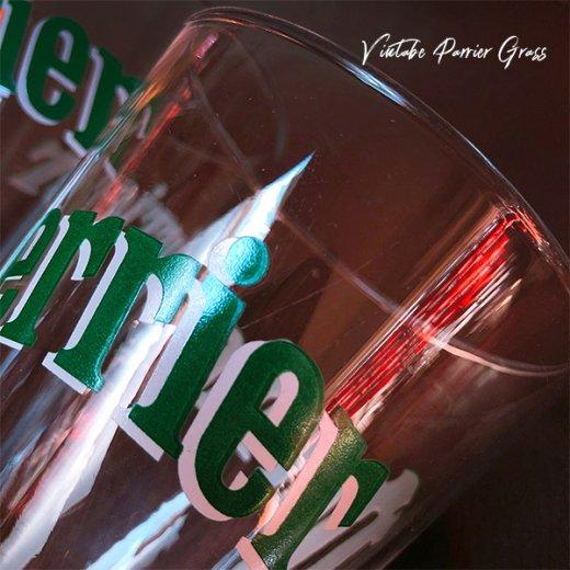 フランス買い付け 【単品販売】ヴィンテージ Perrier(ペリエ)グラス【画像5】