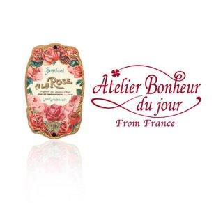 バラ ローズ 雑貨 フランス輸入ボタン アトリエ・ボヌール・ドゥ・ジュール【バラ Savon a La ROSE】