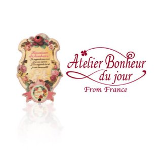 バラ ローズ 雑貨 フランス輸入ボタン アトリエ・ボヌール・ドゥ・ジュール【天使 バラ Savon a La ROSE】