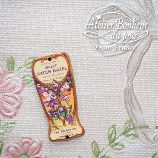 フランス輸入ボタン アトリエ・ボヌール・ドゥ・ジュール【スミレ Bacon's Violet Witch Hazel】【画像5】
