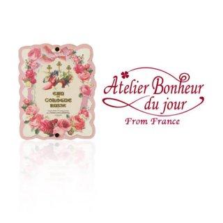 バラ ローズ 雑貨 フランス輸入ボタン アトリエ・ボヌール・ドゥ・ジュール【バラ 幸せの靴】