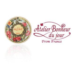 バラ ローズ 雑貨 フランス輸入ボタン アトリエ・ボヌール・ドゥ・ジュール【バラ ALA ROSE PARIS】