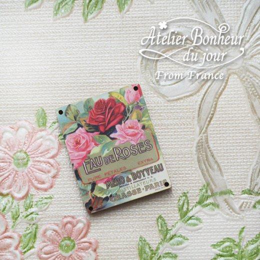 フランス輸入ボタン アトリエ・ボヌール・ドゥ・ジュール【バラ Fau de Roses méro & boyveau paris】【画像5】