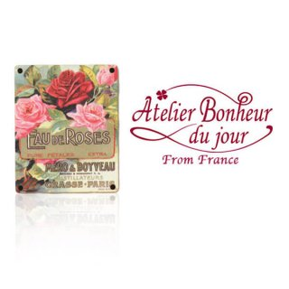 バラ ローズ 雑貨 フランス輸入ボタン アトリエ・ボヌール・ドゥ・ジュール【バラ Fau de Roses méro & boyveau paris】